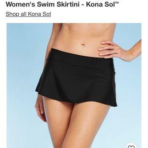 Size S Women's Swimsuit Black Skirt Bottom - new